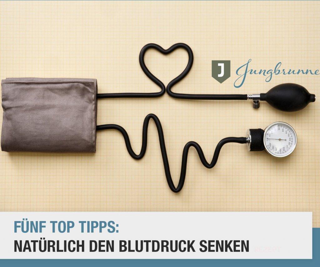 Natürlich den Blutdruck senken - ohne Medikamente..